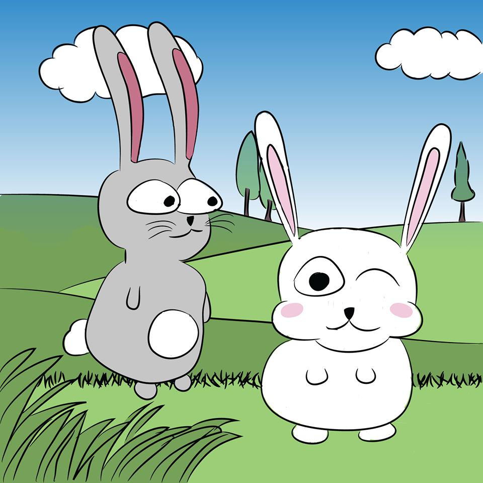 Illustration - Lapins