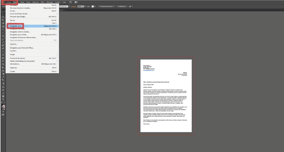 Tuto PDF illustrator