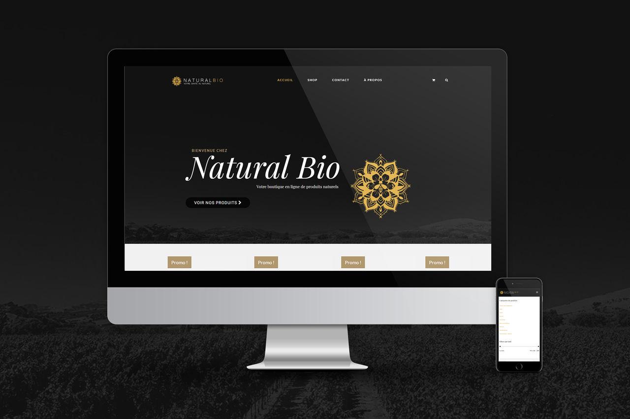 Création site bio