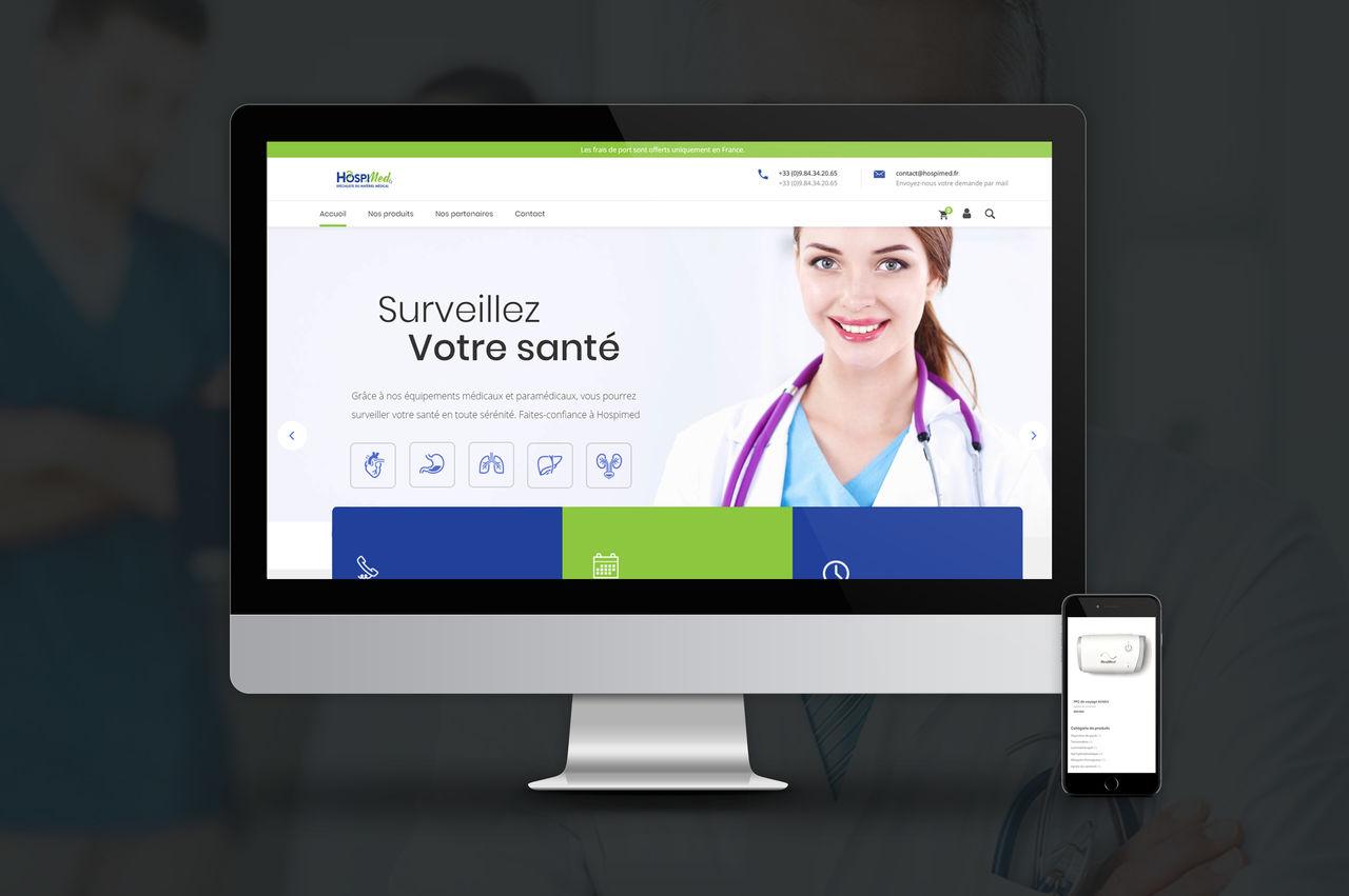 Création site médical